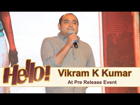 Vikram K Kumar At Hello Pre Release Event