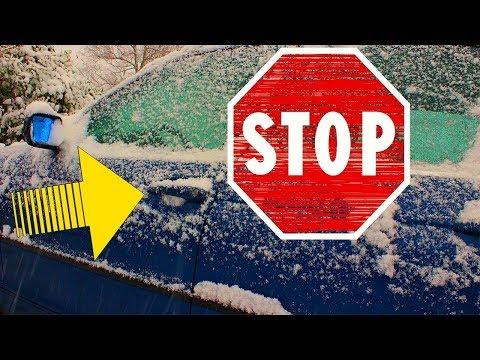 Auto Tür Winterfest machen | Türdichtungen mit Gummipflege