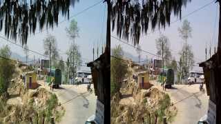 preview picture of video 'Nepal Nagarkot Bus Station'