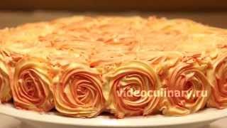 Простой способ украшения тортов - Рецепт Бабушки Эммы