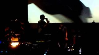 Apparat - A Violent Sky (Live @ Le Café de la Danse, Paris 27-05-2013)