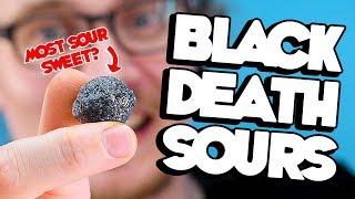 World's Most Sour Candy? | Black Death Mega Sours | LOOTd Taste Test