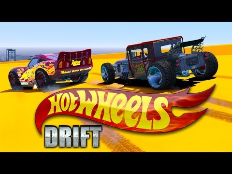 HOT WHEELS VS CARS 3 DRIFT CHALLENGE (Cars 3 Challenge)