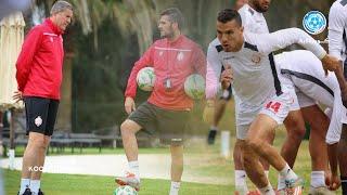 الحصة التدريبية الأخيرة لفريق الوداد قبل مواجهة النجم الساحلي في تونس