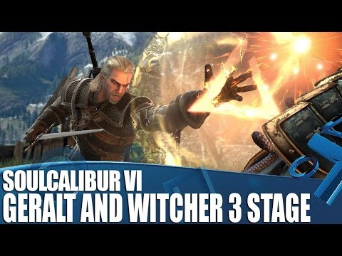 Soulcalibur VI – New Geralt Gameplay and Witcher III stage!