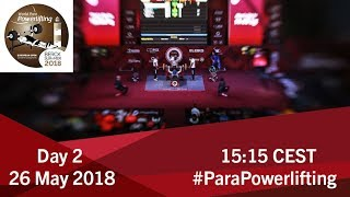 Men's Up to 59kg | World Para Powerlifting European Open Championships | Kholo.pk