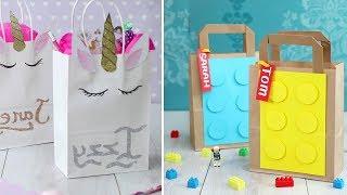Простые идеи -  как упаковать оригинально подарки - Лайфхаки декора