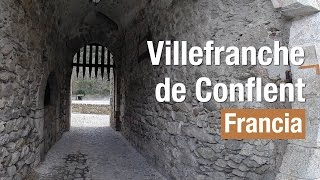 preview picture of video 'Villefranche de Conflent Francia Full HD'