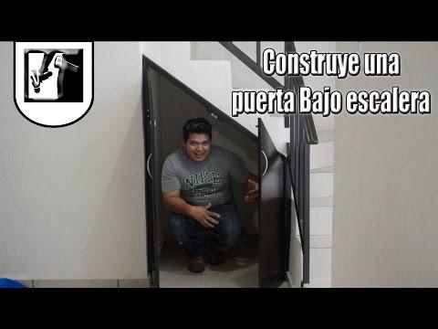 Como Construir una Puerta Bajo escalera - Parte 1