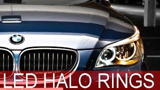 Installing White Halo Ring LEDs - BMW E60