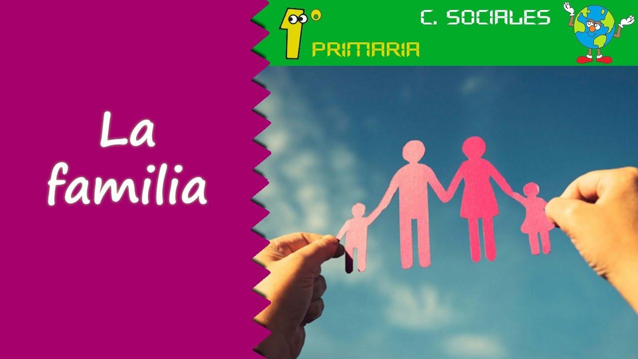 Ciencias Sociales. 1º Primaria. Tema 2: La familia