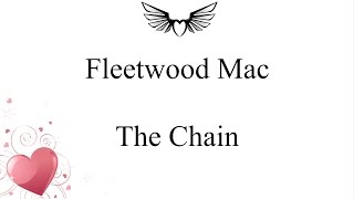 Fleetwood Mac   The Chain (lyrics)