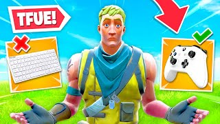 REACTING to TFUE on Controller... HE'S CRAZY!