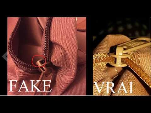 2016 - Quick Comparison of Real & Fake Fjallraven Kanken Backpack