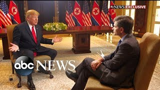 Donald Trump one-on-one with George Stephanopoulos