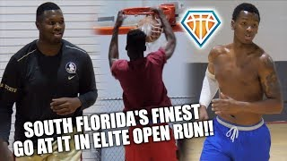 SOME OF SOUTH FLORIDA'S FINEST COMPETE AT OPEN GYM!! | Feat. Keith Stone, RaiQuan Gray & More!!
