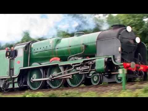 Southern Railway Lord Nelson Class 850 'Lord Nelson' from th…