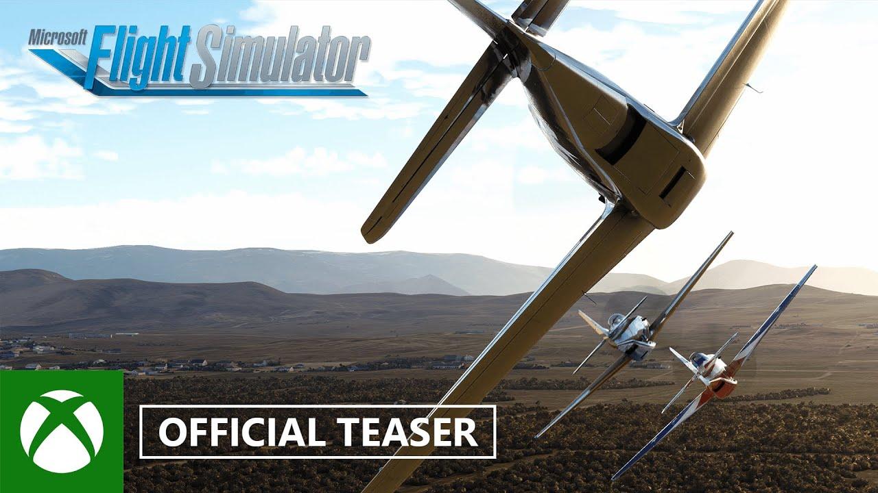 Microsoft Flight Simulator Reno Air Races Teaser – gamescom 2021 Video Still