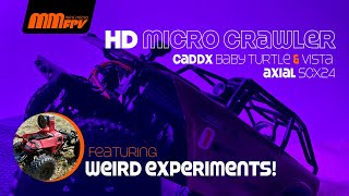 HD Micro Crawler Featuring the Axial SCX24 | Caddx Baby Turtle & Vista (briefly)