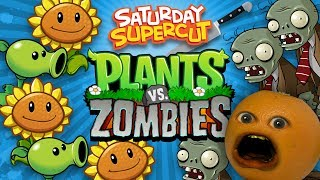 Annoying Orange vs Plants vs Zombies [Saturday Supercut🔪]