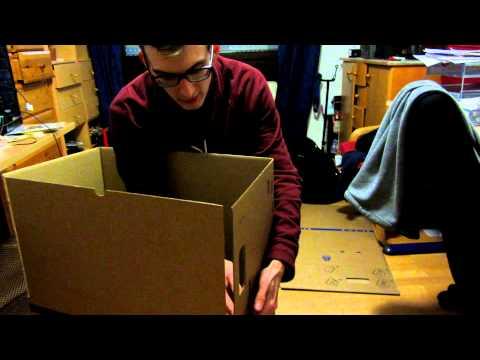 Umzugskatons Jättene von IKEA falten: So gehts (GERMAN)