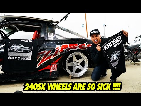 I CAN'T BELIEVE THE 240SX WHEELS ARE UNDER $300 ?!?!