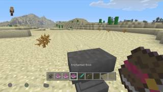Minecraft - how to create a fire sword and bow with a anvil #2