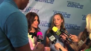 SYTYCD: The Next Generation Judges Paula Abdul and Maddie Ziegler