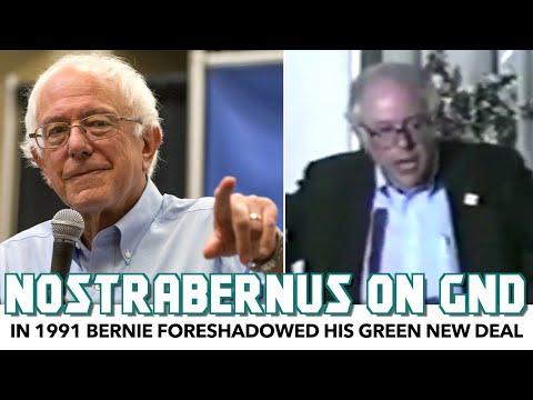 In 1991 Speech Bernie Foreshadowed His Green New Deal