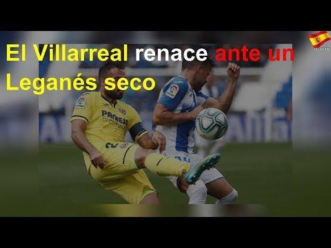 El Villarreal renace ante un Leganés seco