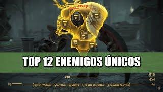 FALLOUT 4 | TOP 12 ENEMIGOS ÚNICOS #1