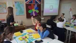 открытый урок английского  6 школа 19.03.2014