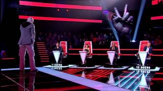 "Fábio de Sousa - ""Rolling In The Deep"" Adele - Provas Cegas - The Voice Portugal - Season 2"