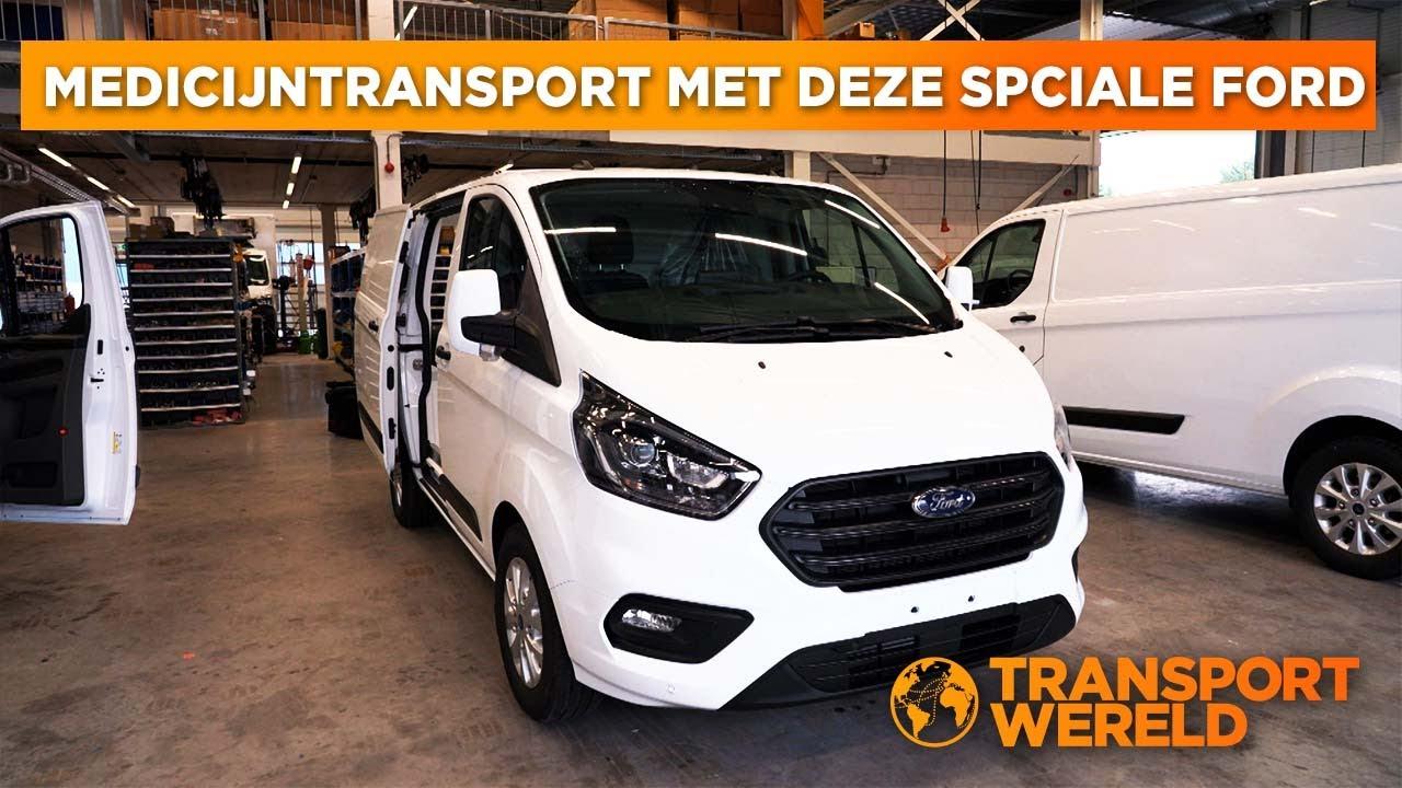 Duurzame innovaties op een Ford Transit Custom Koelwagen