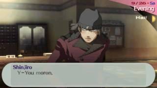 """Persona 3 Portable: Shinjiro """"Love"""" Scene (Extra Moon Link)"""