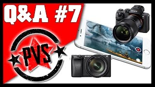 Sony A7R II vs A6300, iPhone 4K, Weird Vibrations