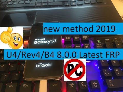 new method 2019 28 mars How To Bypass Google Account Remove Samsung