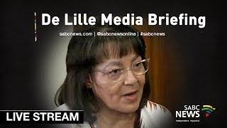 De  Lille media briefing, 18 November 2018