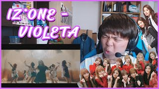 IZ*ONE (아이즈원)   VIOLETA (비올레타) MV Reaction [SOO PRETTY]
