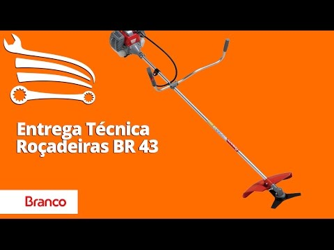 Roçadeira Lateral a Gasolina 2T 42,7CC 1,7HP  BBR43G  - Video