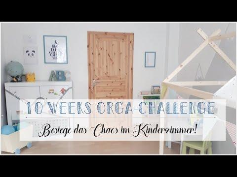 10 Weeks Organizing Challenge I #6 I Kinderzimmer I Minimalismus I KonMarie