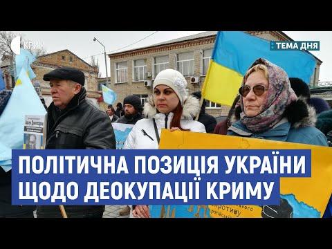 Політична позиція України щодо деокупації Криму | Соломiя Бобровська | Тема дня