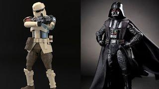 News! Star Wars Black Series NYCC Reveals and Bandai Model Kit Pics
