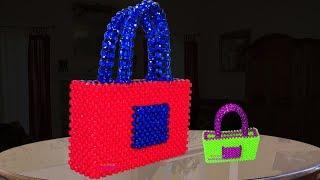 পুতির ব্যাগ/ popular nice bag/ Beaded bag/ Beaded hand bag/ putir bag