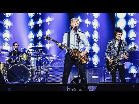 Paul McCartney & Ringo Starr & Ronnie Wood - Get Back [Live at O2 Arena, London - 16-12-2018]