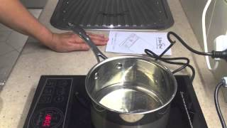 UNBOXING & MINI REVIEW OF PORTABLE INDUCTION HOTPLATE cheekyricho