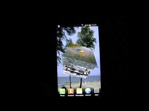 Video of Slideshow Cube Wallpaper Lite