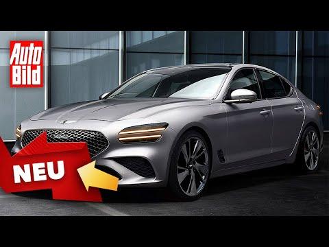Genesis G70 (2021): Neuvorstellung - Marktstart - Shooting Brake