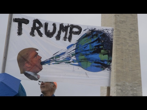 Anti-Trump anger on display at March for Science