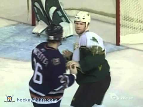 Brad Winchester vs. John Erskine